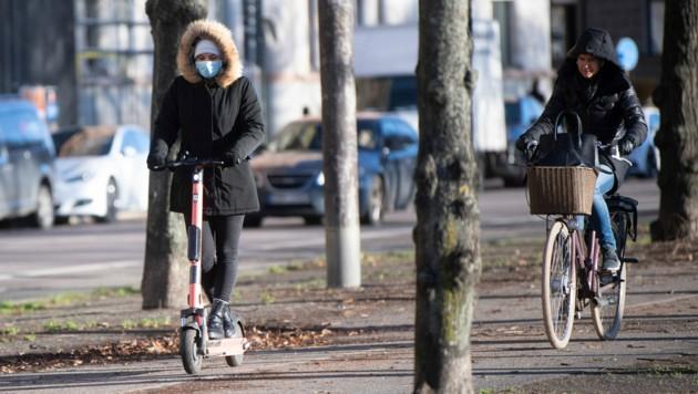 Stockholm im November 2020 (Bild: AFP)