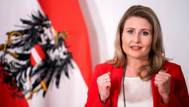 Familienministerin Susanne Raab (ÖVP) (Bild: APA/Georg Hochmuth)