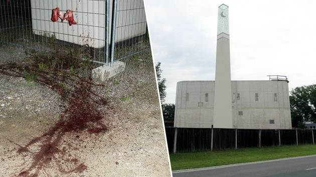 Im Mai 2016 geschah der Anschlag, die Moschee wurde unter anderem mit Schweineblut geschändet.