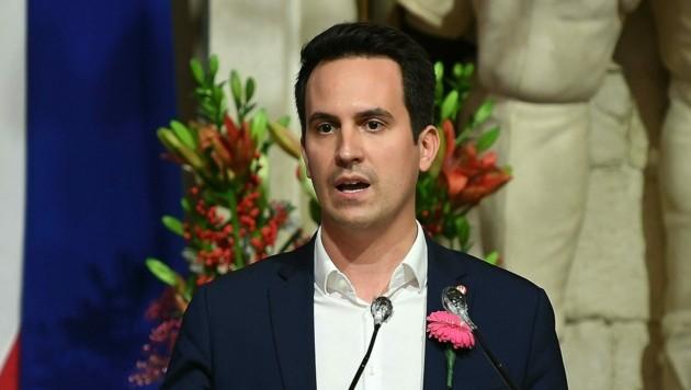 Vizebürgermeister Christoph Wiederkehr (NEOS)