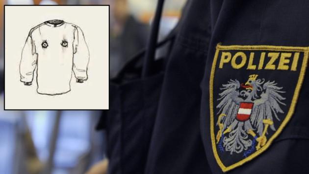 Traurige Augen auf der Bluse: Die Bleistift-Zeichnung befand sich als Leihgabe im Bildungsministerium - nun ist sie verschwunden.