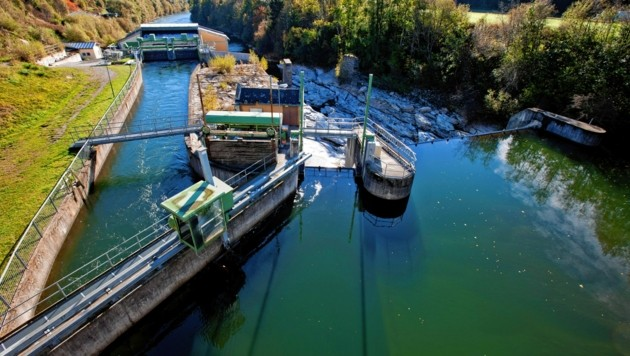 Wasserkraftwerk an der Mur bei Murau (Bild: Stadtwerke Murau/Tom Lamm)