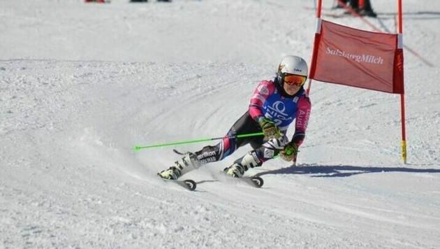 Bereits in ihrer Schülerzeit - wie hier bei den österreichischen Meisterschaften im März - konnte Victoria Olivier ihr Talent unter Beweis stellen.