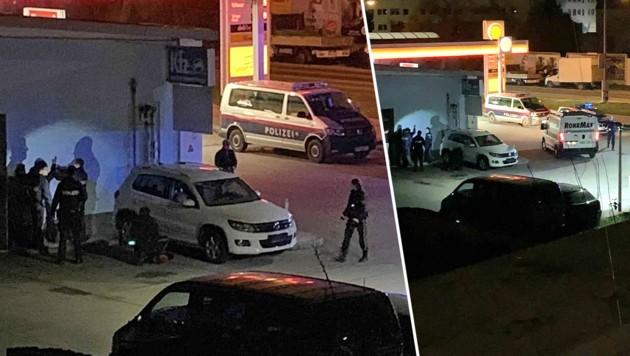 Ein Augenzeuge beobachtete die Festnahme durch die Polizei. (Bild: krone.at, Krone KREATIV)
