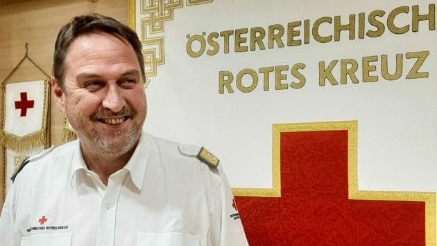 Martin Dablander (Bild: Rotes Kreuz Tirol Wolfgng Egger/Daniel Liebl )