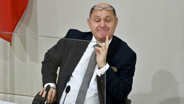 Nationalratspräsident Wolfgang Sobotka (ÖVP) (Bild: APA/HERBERT NEUBAUER)