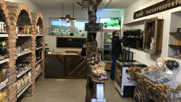 Im Hofladen in Globasnitz kann virtuell eingekauft werden. (Bild: Elisabeth Nachbar)