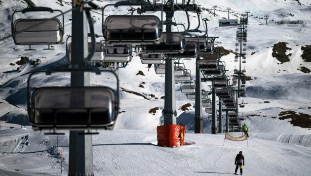 Italien: Der Zugang zu den Skiliften wird vor allem durch den sogenannten Grünen Pass geregelt. (Bild: AFP)