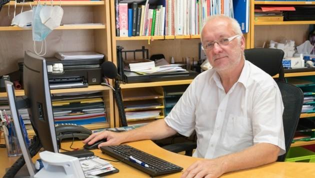 Dr. Wolfgang Ziegler, Sprecher der Hausärzte in OÖ (Bild: Haijes Jack)