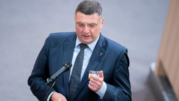 Der stellvertretende SPÖ-Klubvorsitzende Jörg Leichtfried (Bild: APA/Georg Hochmuth)