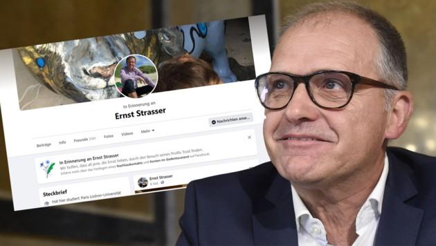 Auf Facebook fälschlich für tot erklärt: Ernst Strasser, Ex-Politiker und nunmehriger Hotelier in Bad Ischl (Bild: APA/Helmut Fohringer, facebook.com/ernst.strasser, Krone KREATIV)