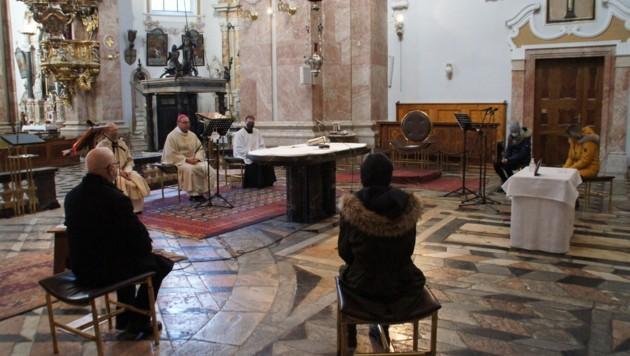 Bereits im Frühling fanden Radiogottesdienste mit dem Bischof statt