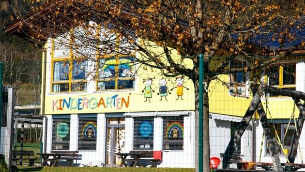Der sanierungsbedürftige Kindergarten in Radstadt (Bild: Gerhard Schiel)