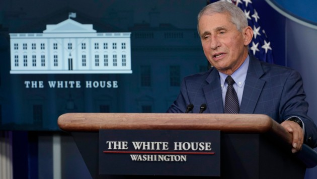 Der Immunologe Anthony Fauci (Bild: The Associated Press)