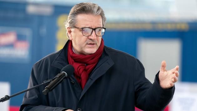 Gesundheitsstadtrat Peter Hacker (SPÖ) (Bild: APA/GEORG HOCHMUTH)