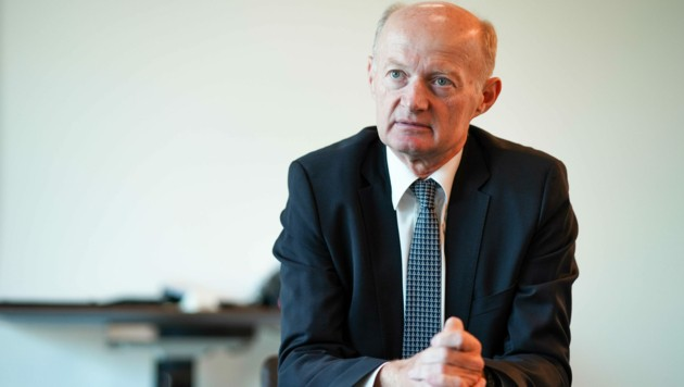 Oberbank-Generaldirektor Franz Gasselsberger