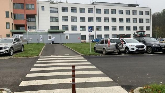 Im Krankenhaus Güssing infizierte sich der betagte Burgenländer mit dem gefährlichen Virus (Bild: Schulter Christian)