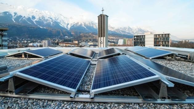 Nicht nur Dächer sollen als PV-Anlagen genutzt werden.