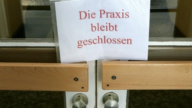 Solche Mitteilungen befürchtet man auch in Pottenbrunn (Bild: Patrick Pleul)