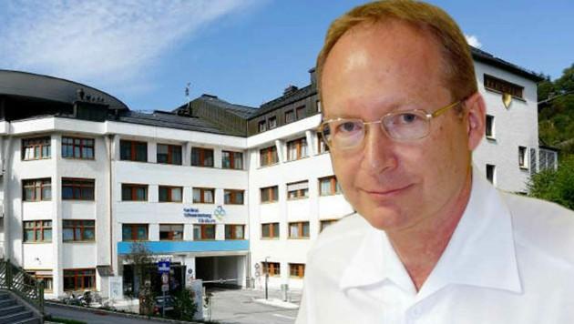 Andreas Valentin leitet das Spital in Schwarzach. (Bild: Kardinal Schwarzenberg Klinikum, Schiel)