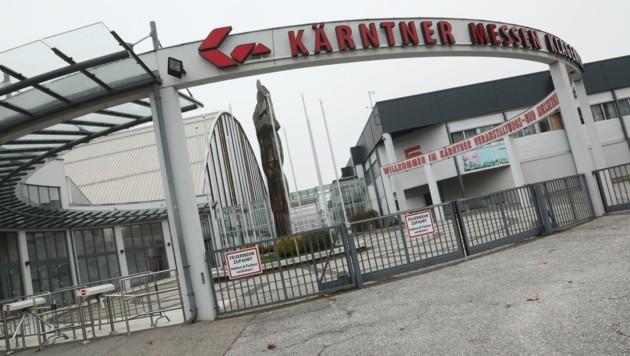 Auf dem Messegelände in Klagenfurt sollen ebenfalls Tests durchgeführt werden (Bild: Rojsek-Wiedergut Uta)