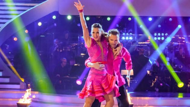 Michaela Kirchgasser, Vadim Garbuzov (Bild: ORF)