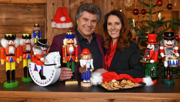 Andy und Birgit Borg: Wenn Weihnachten naht, geht die Frau des Entertainers in Deckung.