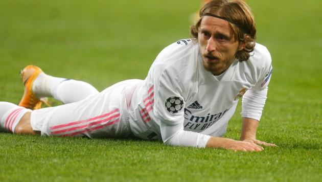Real Madrids Luka Modric (Bild: AP)