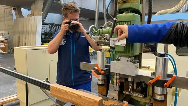 Fenster-Hersteller Wick kommt unter den Hammer, die Maschinen wurden für den Online-Katalog fotografiert