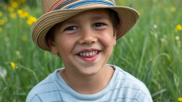 Paul (5) hofft auf eine geeignete Stammzellen-Spende. (Bild: Geben für Leben, Leukämiehilfe Österreich)