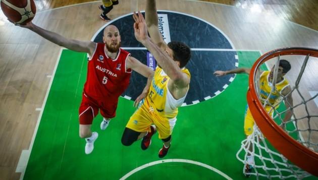 Thomas Schreiner in Aktion (Bild: FIBA)