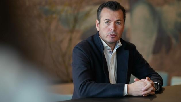 Christian Wimberger ist mittlerweile Chef von 670 Mitarbeitern.