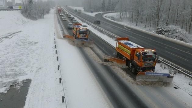Inntal- und Brennerautobahn gehören zu den arbeitsintensivsten Streckenabschnitten der Asfinag (Bild: Afinag)