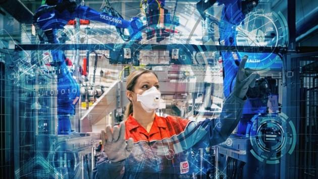 Das Know-how der steirischen Automatisierungstechnik ist nun auf einem Blick sichtbar. (Bild: IV Stmk/Mathias Kniepeiss)