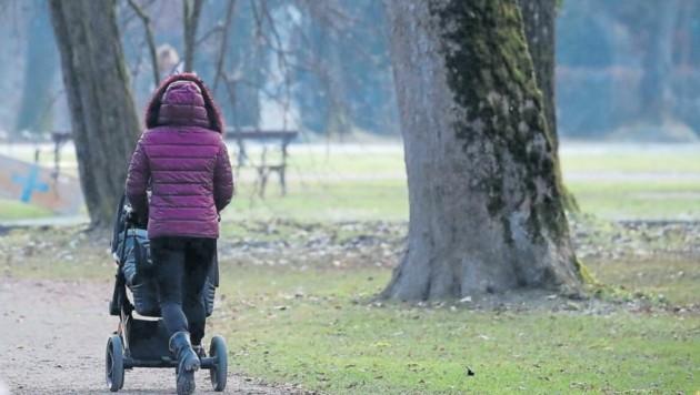 Die Kinderbetreuungsfrage stellt besonders Alleinerziehende vor große Herausforderungen. (Bild: Andreas Tröster)
