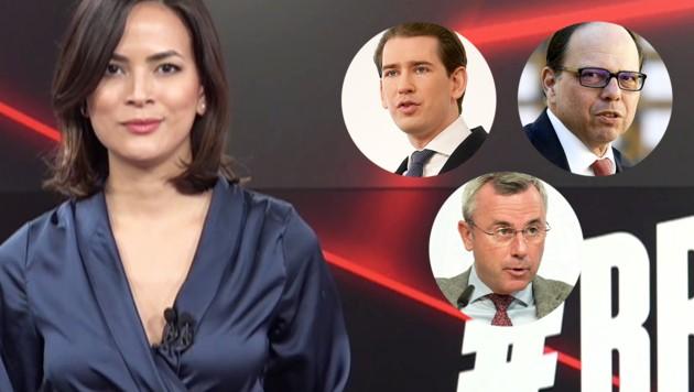 (Bild: Georg Hochmuth, Hans Klaus Techt, Herbert P. Oczeret, Krone.tv, Krone KREATIV)