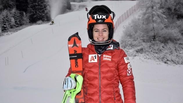 Freut sich über gute Bedingungen im Lungau: Weltcup-Läuferin Steffi Brunner. (Bild: Holitzky Roland)