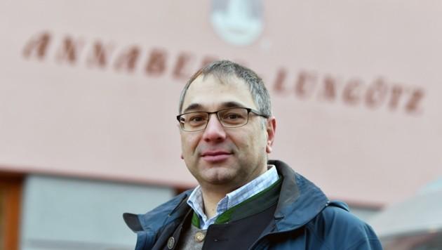 Massentest-Pionier Martin Promok (42), Bürgermeister von Annaberg-Lungötz. (Bild: BARBARA GINDL)
