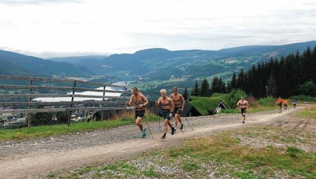 Im fernen Norwegen schuftet Vermeulen für den Langlauf-Traum. (Bild: zVg/Vermeulen)