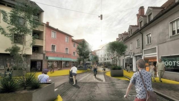 (Bild: Stadt Graz Verkehrsplanung/Verkehrplus)