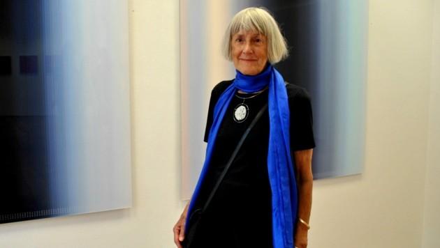 Grande Dame der experimentellen Fotografie: Inge Dick aus Innerschwand. (Bild: LiveBild)