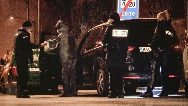 Die Polizei fand das geraubte Auto in der Nähe des Salzburger Hauptbahnhofs. (Bild: Tschepp Markus)