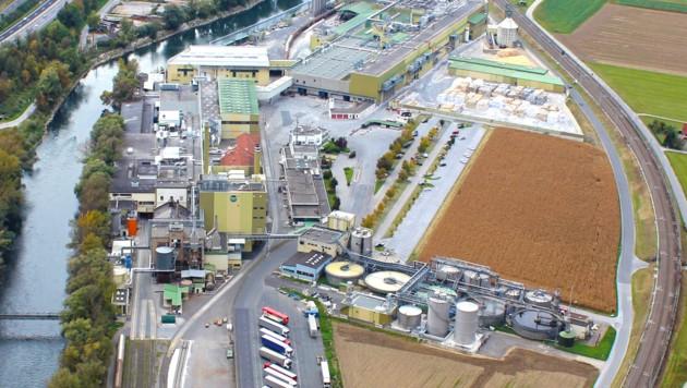 Das Maryr-Melnhof-Kartonwerk in Frohnleiten (Bild: Mayr Melnhof Karton GmbH)