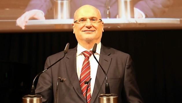 Präsident Bartosch plant zuversichtlich. (Bild: Christian Jauschowetz)