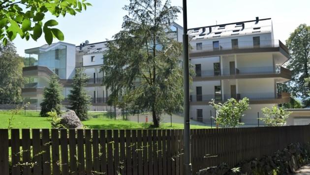Zu Quadratmeterpreisen um 14.000 Euro werden Wohnungen am Gersbergpark angeboten (Bild: KPÖ PLUS Salzburg)