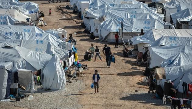 Die Zustände im Lager sind katastrophal. (Bild: AP)