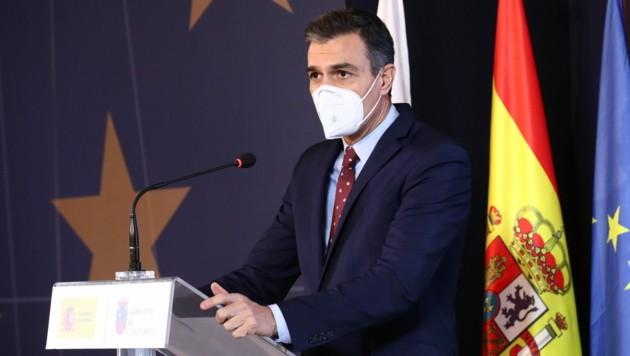 Der spanische Premierminister Pedro Sanchez