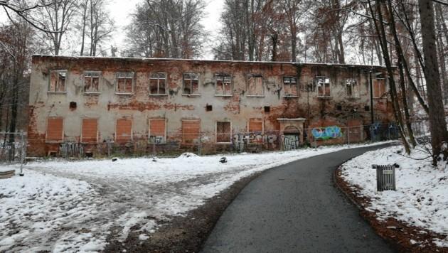 Das ehemalige Jesuitenrefektorium am Grazer Rosenhain. (Bild: Christian Jauschowetz)