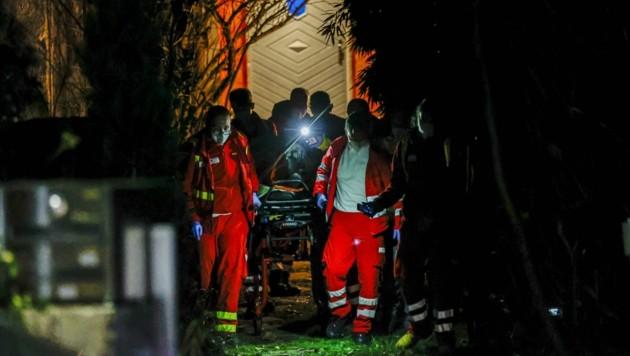 Das Opfer erlitt schwere Schnittverletzungen, schwebt nicht in Lebensgefahr. (Bild: Tschepp Markus)
