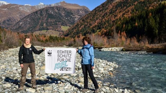 M. Götsch & Renate Hölzl (Bild: WWF/Bettina Urbane)